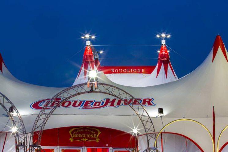 Le Chapiteau du Cirque d'Hiver Bouglione