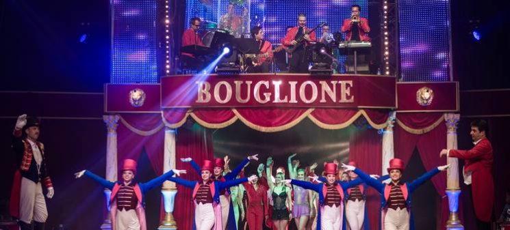 Les artistes du Cirque d'Hiver Bouglione