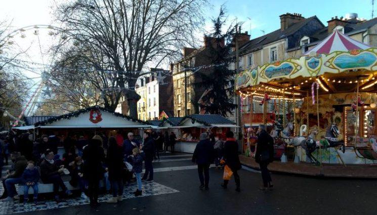 Marché de Noël à Rennes